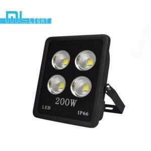 สปอร์ตไลท์ led 200w วอร์มไวท์ ml light