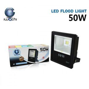 สปอร์ตไลท์ LED 50w SPL-A (วอร์มไวท์) IWACHI