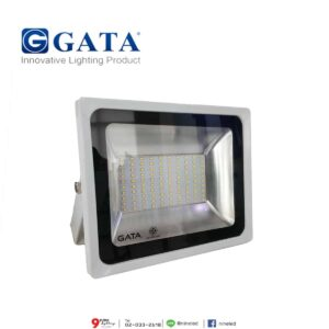 สปอร์ตไลท์ LED 50W (เดย์ไลท์) Body สีขาว GATA